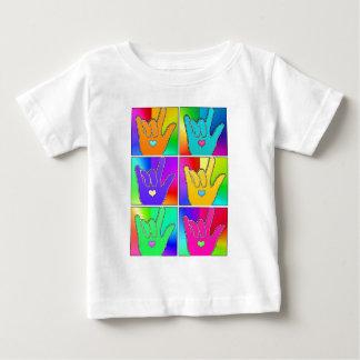 ILY (I愛)の時間6 ベビーTシャツ