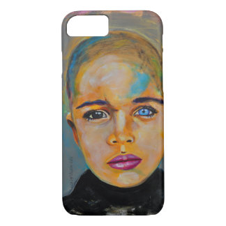 ilyaのkonyukhovによる虹彩異色症の男の子 iPhone 8/7ケース