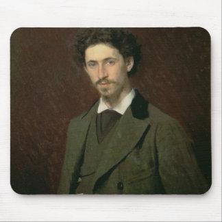 Ilya Efimovich Repin 1876年のポートレート マウスパッド