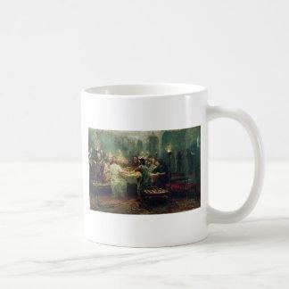 Ilya Repin著最後の晩餐 コーヒーマグカップ