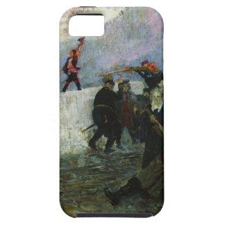 Ilya Repin著1812年に包囲されたモスクワ iPhone SE/5/5s ケース