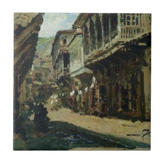 Ilya Repin著Tiflisの通り タイル