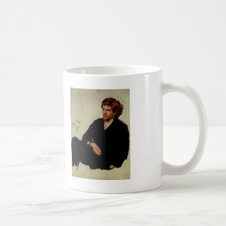Ilya Repin-学生の虚無主義者 コーヒーマグカップ