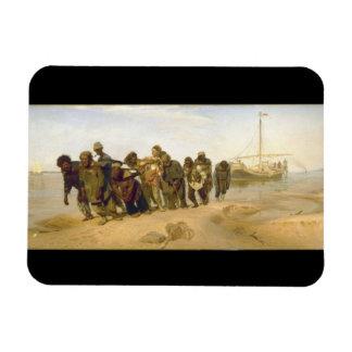 Ilya Y. Repin著ボルガのはしけの運送業者 マグネット