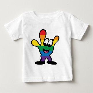 ILYrainbowFinal ベビーTシャツ
