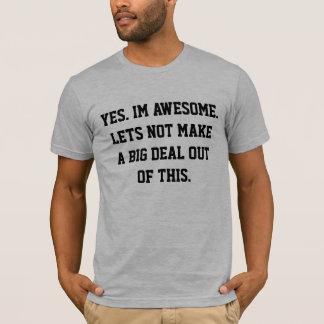 IM素晴らしいワイシャツ Tシャツ