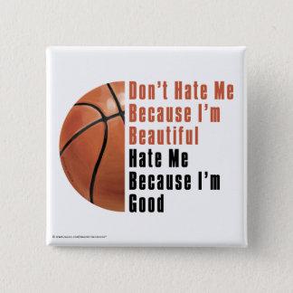 Im美しいImよいバスケットボール 缶バッジ