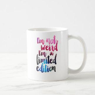 Im風変わりではないIm限定版の引用文の10代のなユーモア コーヒーマグカップ