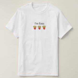 I'm easy tシャツ