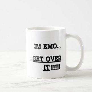 Im Emo… それを乗り越えて下さい コーヒーマグカップ
