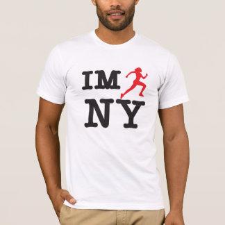 IM NYを走って下さい Tシャツ