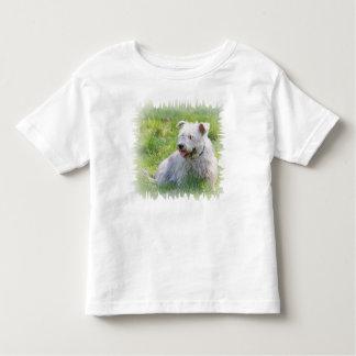 Imaalテリア犬のユニセックスな幼児のTシャツの谷間 トドラーTシャツ