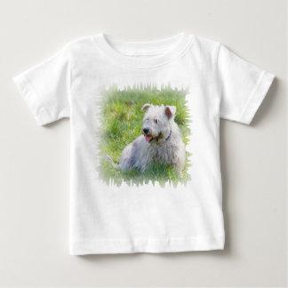 Imaalテリア犬のユニセックスな幼児Tシャツの谷間 ベビーTシャツ