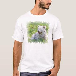 Imaalテリア犬のユニセックスなTシャツ、ギフトの谷間 Tシャツ