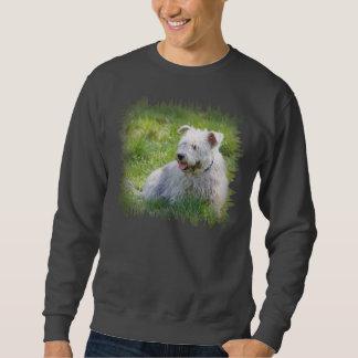 Imaalテリア犬のユニセックスなtsweatshirt、ギフトの谷間 スウェットシャツ