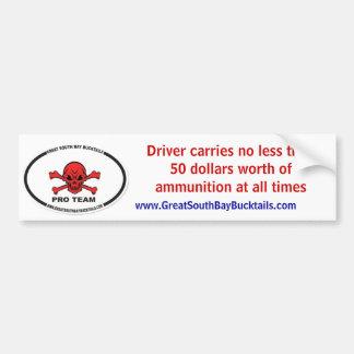 image.aspxの運転者はより少しをそして50人形…運びません バンパーステッカー