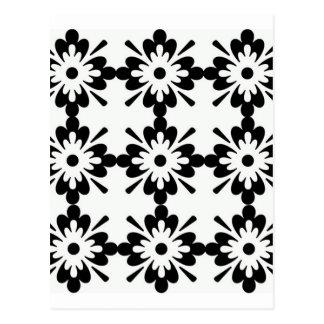 imagem de florのpretaのtipoのestrela ポストカード