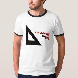 Imalwaysright Tシャツ