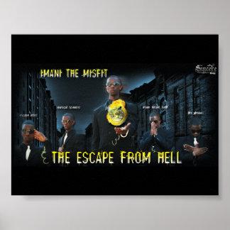 Imani不適当な物-地獄からの脱出 ポスター