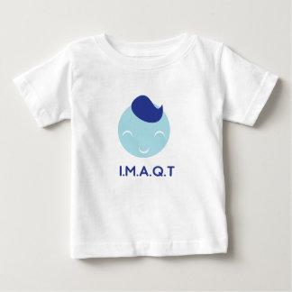 IMAQTの男の子 ベビーTシャツ