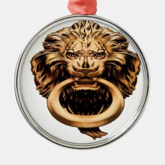 IMBHのライオンのノッカー2ndEd メタルオーナメント