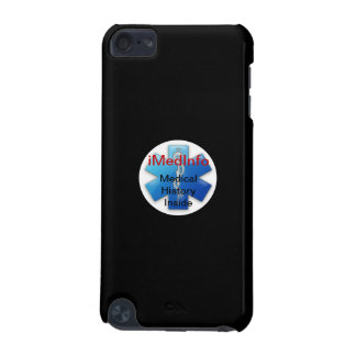 iMedInfoのiPodの箱-黒 iPod Touch 5G ケース