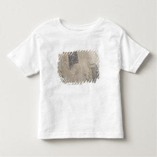 ImenmesおよびDejatを描写するレリーフ、浮き彫り トドラーTシャツ