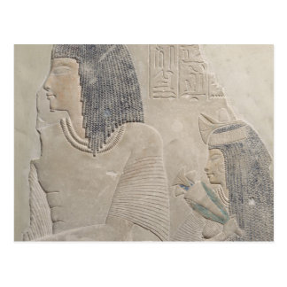 ImenmesおよびDejatを描写するレリーフ、浮き彫り ポストカード
