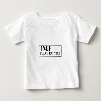IMFの電子工学のロゴ ベビーTシャツ