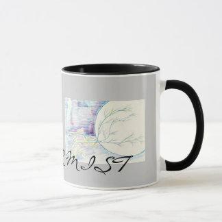 img013の冬の霧 マグカップ