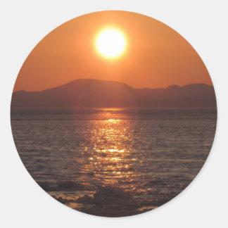 IMG_1069アラスカの日没Kotz ラウンドシール