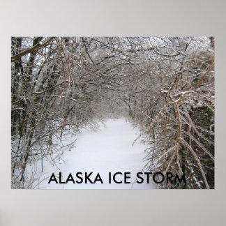 IMG_4410の   アラスカの氷雨 ポスター