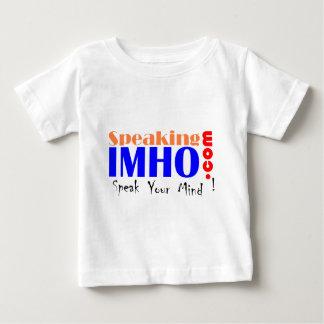 IMHOを話すこと ベビーTシャツ
