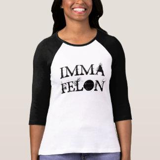 IMMAの重罪犯人 Tシャツ