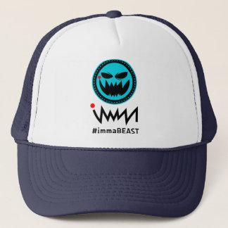 immaBEASTのロゴ キャップ