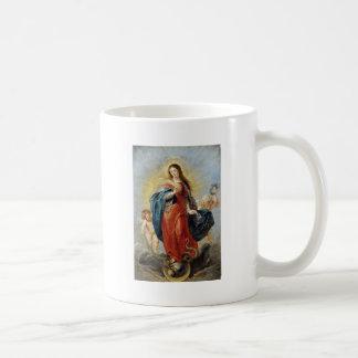 Immaculate Conception - Peter Paul Rubens コーヒーマグカップ