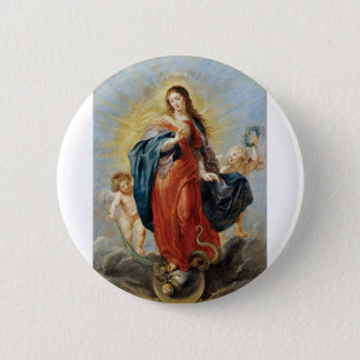 Immaculate Conception - Peter Paul Rubens 5.7cm 丸型バッジ