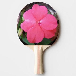 Impatiensのピンクの卓球ラケット 卓球ラケット