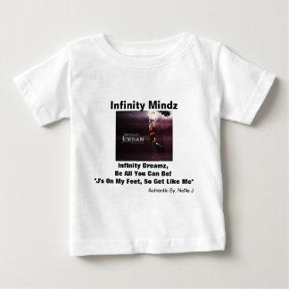 "iMzの""マイケル・ジョーダン""の広告4kidz ベビーTシャツ"