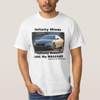 "iMzの""Maserati""の広告 Tシャツ"