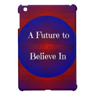 Inを信じる赤白青のベルニーの「未来 iPad Miniケース
