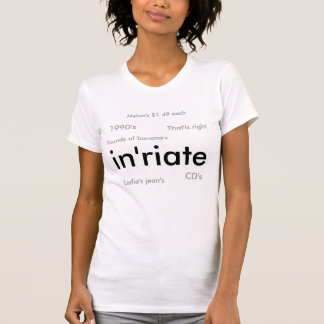 Inapostropheriateの女性 Tシャツ