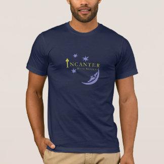 Incanterデータ魔術高品質な海軍Tシャツ Tシャツ