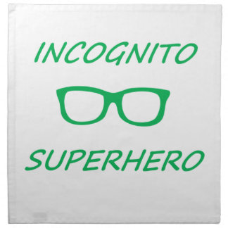 Incognitoスーパーヒーロー01G ナプキンクロス