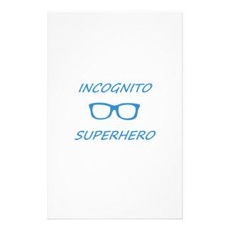Incognitoスーパーヒーロー1BL 便箋