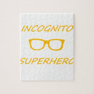 Incognitoスーパーヒーロー1O ジグソーパズル