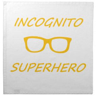 Incognitoスーパーヒーロー1O ナプキンクロス