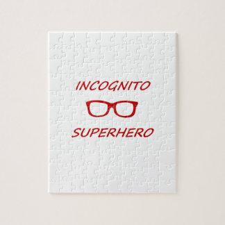 Incognitoスーパーヒーロー ジグソーパズル