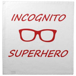 Incognitoスーパーヒーロー ナプキンクロス