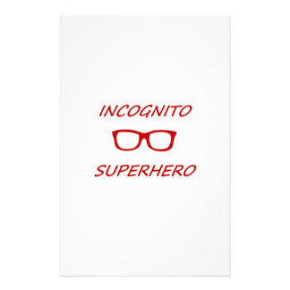 Incognitoスーパーヒーロー 便箋